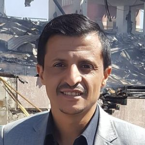 الاعلامي والناشط السياسي زيد الغرسي